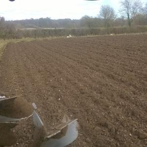 Ploughing organic
