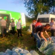 Leek gleaning - The gleaning network